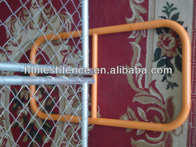 chain wire portable fence/construction event temporary fencing panels direct factory
