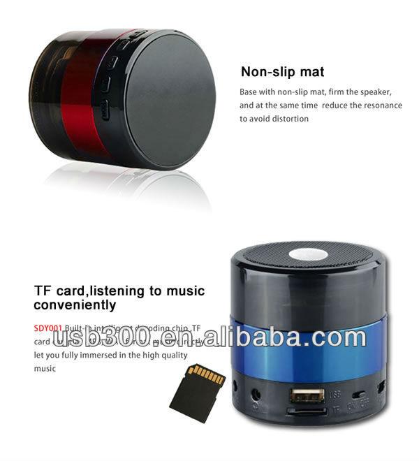 audiosonic mini bluetooth speaker manual