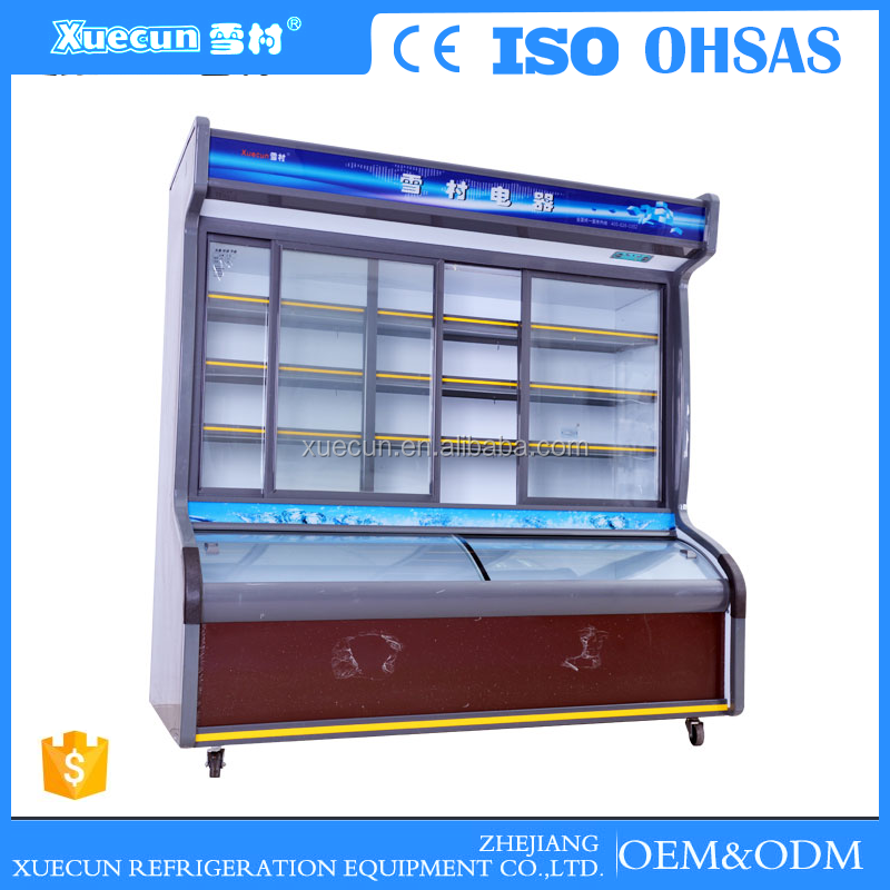 most selling portable large industrial order dishes cabinet freezer