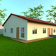 cheap prefab steel framed homes house villa shed for sale