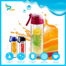BPA free gatorade water bottle fashion design tritan joyshaker fruit infuser water bottle