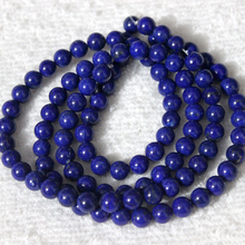 Loose jems stone beads,wholesale lapis round beads 6mm