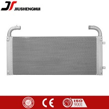 High performance aluminum oil to water heat exchanger