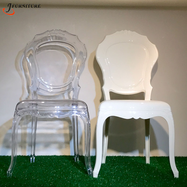 Crystal Polycarbonate Dining Belle Epoque Chair