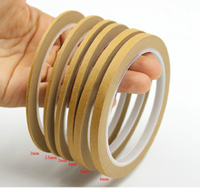 SGS Appproved Single Side Rubber Adhesive Crepe Paper Low Tack Masking Tape With Factory Provide