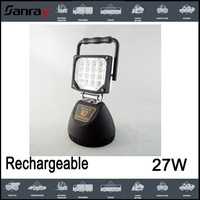 27W Rechargeable LED Work Light with strong magnetic