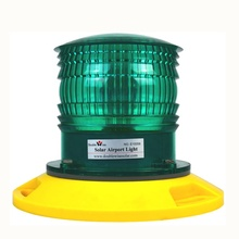 Green 랜딩 경계 TLOF lighting System Solar Led Airport Heliport 빛