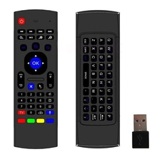 New Cheap Wireless MX3 Air Mouse 2.4G Remote Control Keyboard for Android Mini PC TV Box