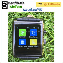 Factory price 2015 New arrival smart watches android cell phone, MaPan FM radio watch 1.54 inch