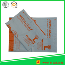 Durable and recyclable new product packing list enclosed plastic envelope