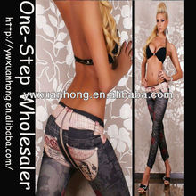 Leggings sexy photo leggings spandex jeans Sex legging pants jeans