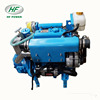 HF380M water cooled engine 27 hp diesel marine engine 3 cylinder