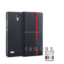 Magnet Leather Flip Case Wallet Leather case for Nokia E63