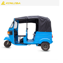 three wheel gasoline passenger car tricycle taxi