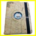 Magnetic Rotating Leather Case for iPad mini Smart Cover Wholesale Cheap Lot Cases Covers Stylish Earth World Map New 2