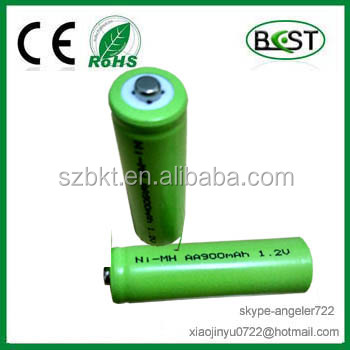 consumer battery Ni-MH battery AA900mAh 1.2V botton top