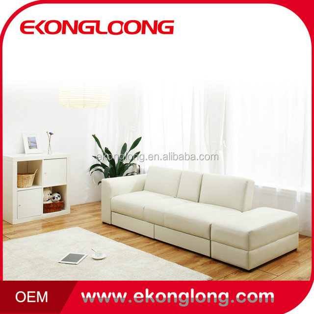 Unique design leather sofa cum bed/Lowest price folding sofa wall bed