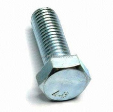 Good sales on stock of bolts nad nuts, special for DIN series, GRADE A, B for M12, M16,M18,M20, M22, M24 din 933, din 931