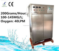 200G/H 100~145MG/L Ozone Generator used on Water Purification and Air Purification