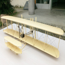 1:8 scale wright plane model aircraft from China