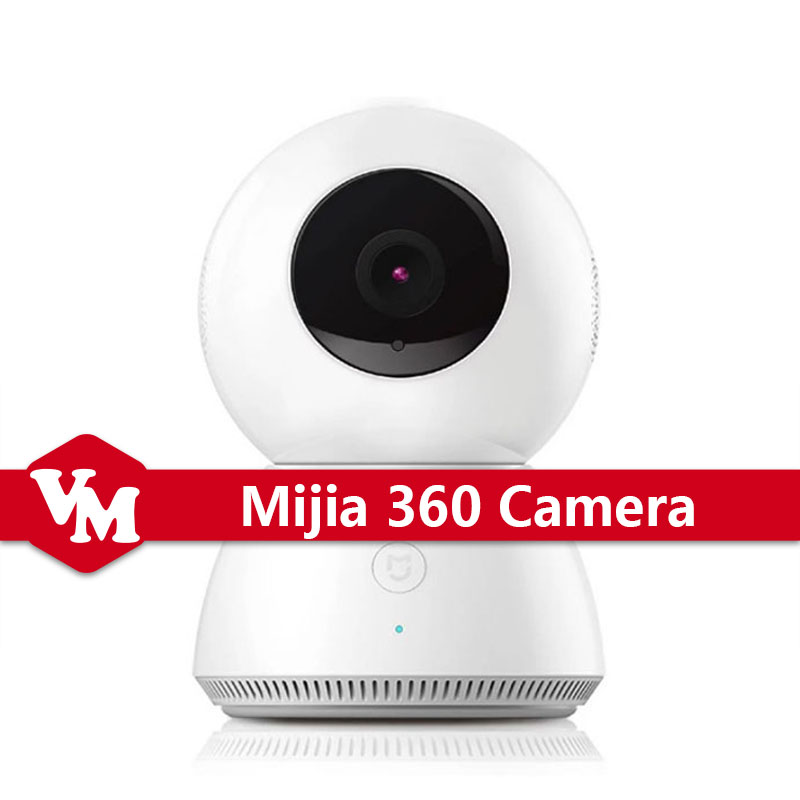Original Mi 360 Degree Camera Mi Smart Webcam 1080P FHD Wifi Home Camera 360 Night Version Remote Control Camera