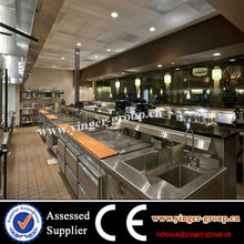 Big kitchen project/stainless steel kitchenware
