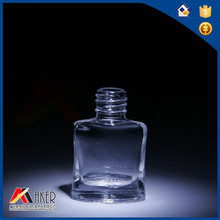 Hot Sale egg Shape Clear Empty Glass Nail Polish Bottles