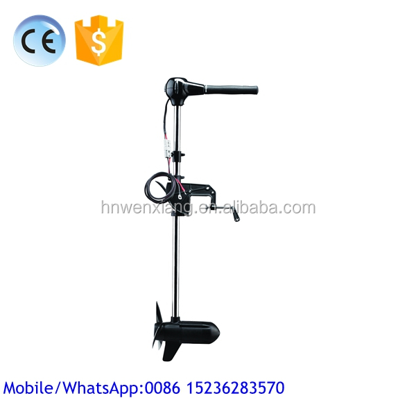 2015 China Hot Sale New 24v Electric Fishing Trolling <strong>Motor</strong> Used on Outboard for Fishing Boat