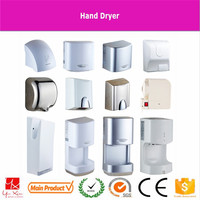 Double-sided high-speed hand-dryer jet-type LCD display floor-type dry hands