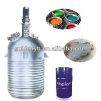 chemical reactor for paint, resin and silicone rubber