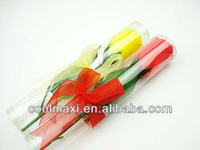 Single packed Artificial soap flower for christmas gifts