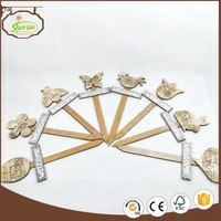 Home Decor Accessory Garden Wooden Stick