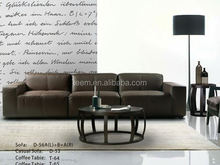 Modern confortable home furniture sofa set massage sectional sofa