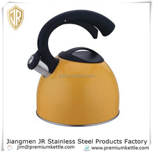 2.5L decorative kettle stainless steel whistling kettle
