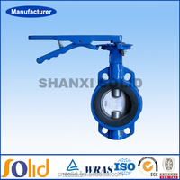 China manufacturer price 1 inch cast iron butterfly valve