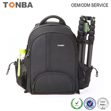 Best 600D Waterproof Nylon Black Camera Backpack Shoulder Camera Bag for DSLR SLR Camera Lens Tripod