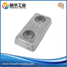 ASTM standrad high quality zinc welding anodes for anti-corrossion