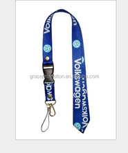 Cheap custom lanyards no MOQ wholesale with custom logo lanyard for promotion