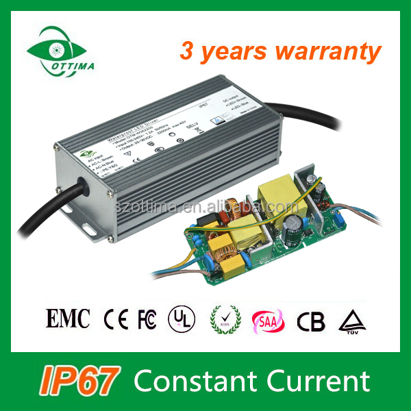 Waterproof led power supply 36v ip67 led driver for outdoor led lighting