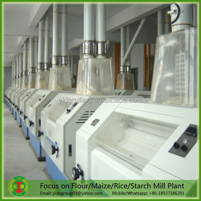 Full automatic new design wheat flour mill price