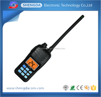 IP-67 Waterproof and Dustproof VHF FM Handheld/Handy Marine Radio with 70 Programmable Channels