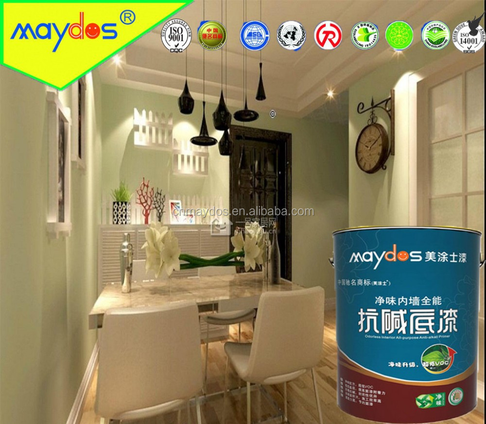 Factory price with high quality interior wall primer paint