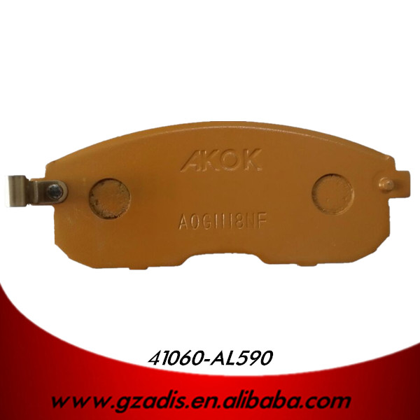 brake pads for nissan cefiro a33 parts oem 41060-AL590
