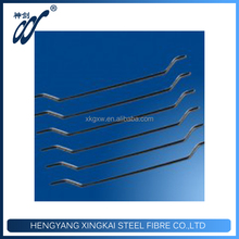 Refractory Material Steel Wire Fiber For Runway Pavement