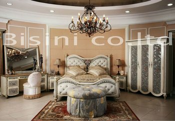 New classical bedroom furniture,bed,side table,bench,dresser,mirror,stool,wardrobe,solid wood bedroom sets