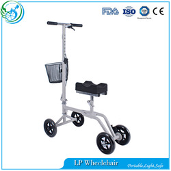 Rehabilitation Steerable 4 Wheel Used Knee Scooter