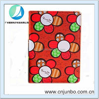Cute Printed sunflower leather case for ipad mini 2