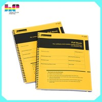 business directory yellow page printing round spine softcover book