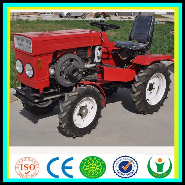 2016 Hot Sales Newly Designed and Electric Start Multi-purpose Farm Mini Tractor 12 HP / 15HP