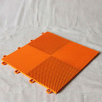 Interlocking PP Assembled Floor/Outdoor Basketball Badminton